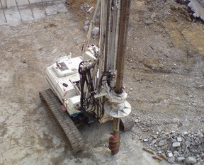 Helical Piles Is A Foundation Repair Method For Homes In Hoffman Estates And Chicago, Il